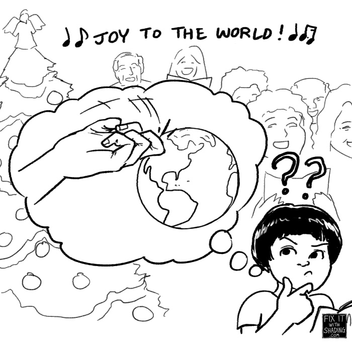 joy to the world, abc interpretation