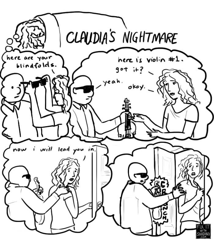 claudia fritz paris experiment nightmare