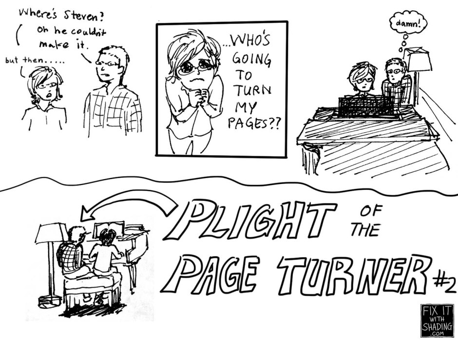 plight of the page turner #2