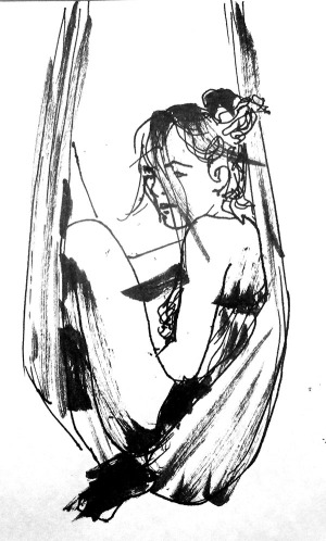 dr sketchy life drawing sky candy austin
